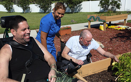 Spinal Cord Injury Rehabilitation Patients Receive Community Integrated therapy