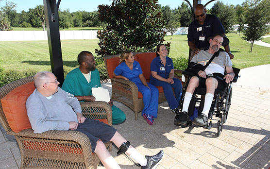 Stroke Rehabilitation patients, residential rehabilitation,