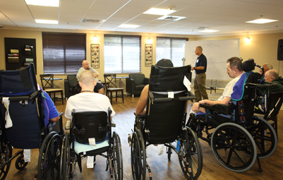 Outcomes, inpatient rehab facility, residential rehab