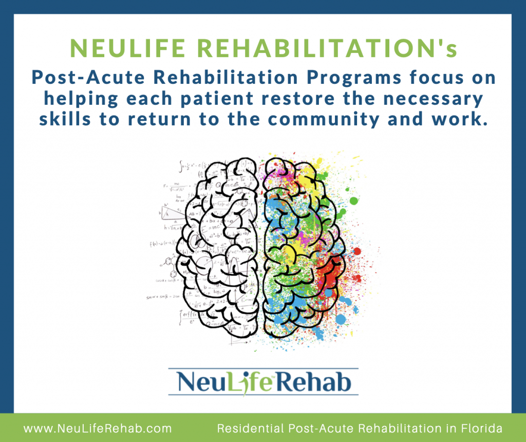 post acute rehabilitation 1024x860 - The Link Between Traumatic Brain Injury and Mental Health